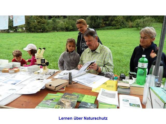 Lernen über Naturschutz