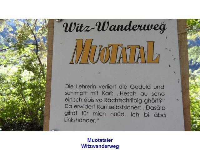 Muotataler Witzwanderweg
