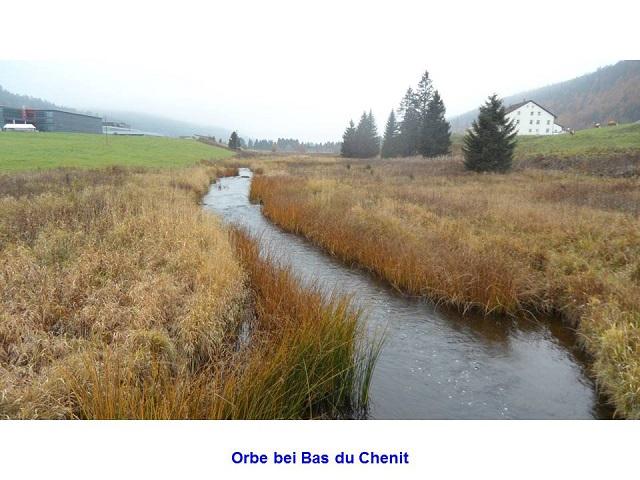 Orbe bei Bas du Chenit