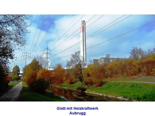 Glatt mit Heizkraftwerk Aubrugg