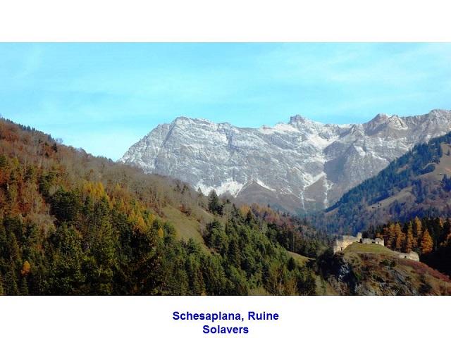 Schesaplana, Ruine Solavers