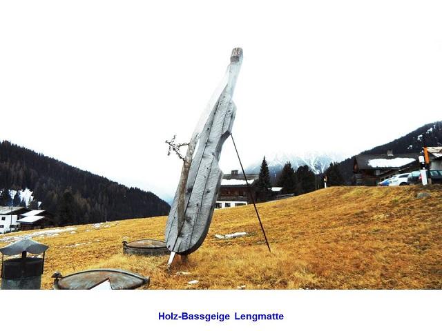 Holz-Bassgeige Lengmatte