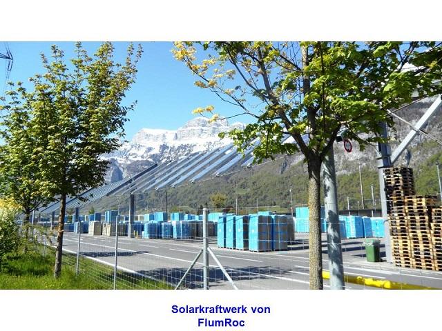 Solarkraftwerk von FlumRoc