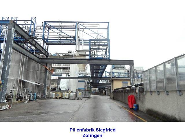 Pillenfabrik Siegfried Zofingen