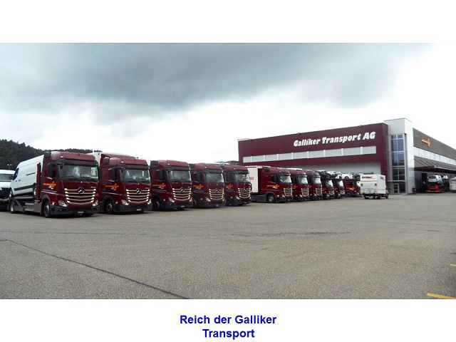 Reich der Galliker Transport