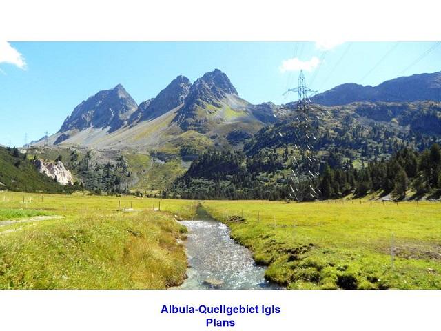 Albula-Quellgebiet Igls Plans