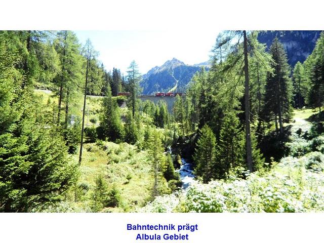 Bahntechnik prägt Albula Gebiet